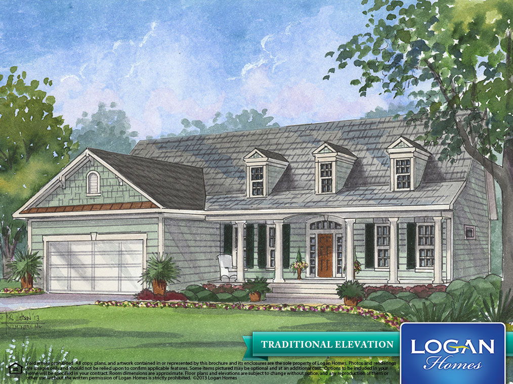Bellamy Ii Floor Plan Models Logan Homes