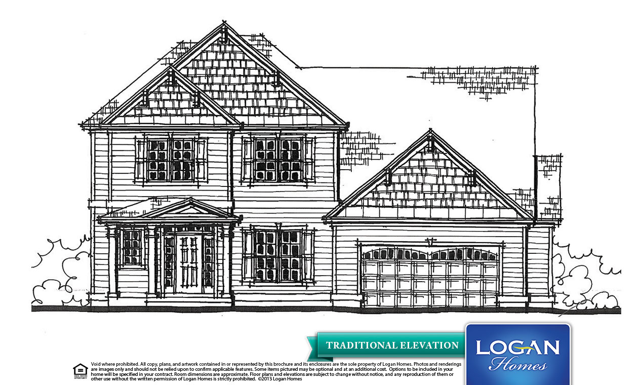 New Bern Ii 2 Floor Plan Models Logan Homes: new model house plan