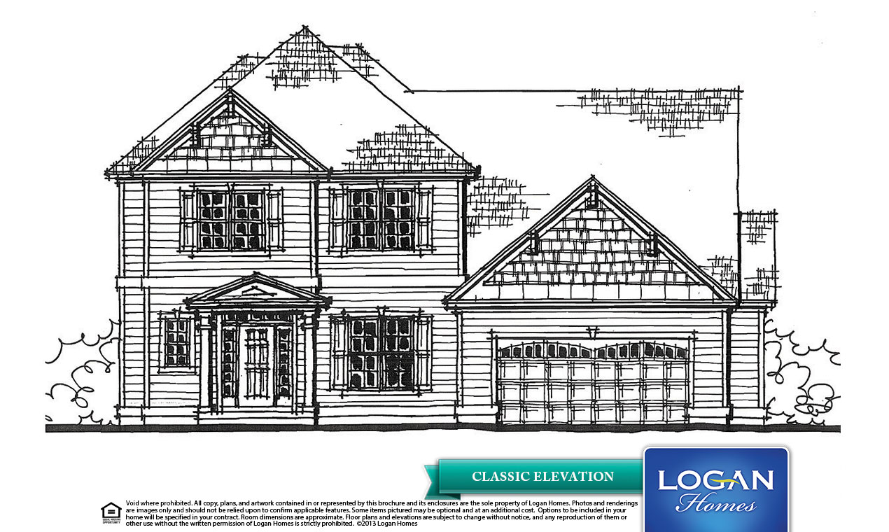 New Bern Ii 2 Floor Plan Models Logan Homes